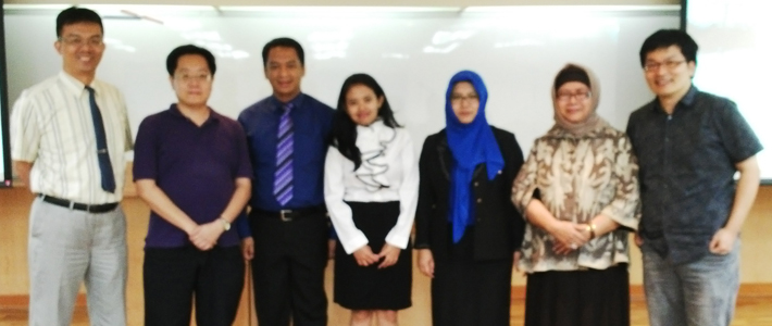 Ujian Double Degree Program Magister Manajemen-MBA di National Central University Taiwan