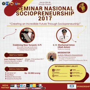 Seminar Ekonomi Nasional: Management Edutainment 2017