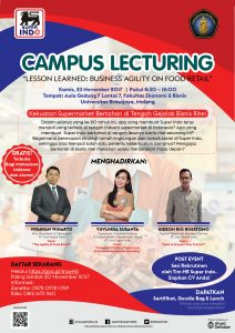 Campus Lecturing and Campus Recruitment PT. Lion Super Indo 2017